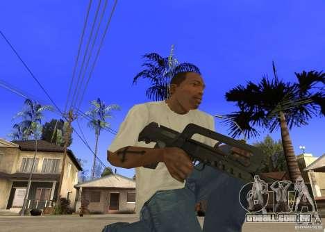 Famas-F1 para GTA San Andreas