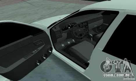 Lada Priora Low para GTA San Andreas vista traseira