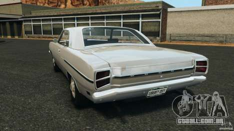 Dodge Dart 1969 [Final] para GTA 4 traseira esquerda vista