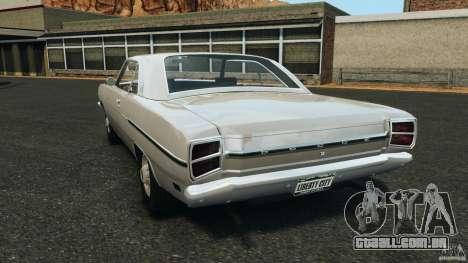 Dodge Dart 1969 [Final] para GTA 4 traseira esquerda vista