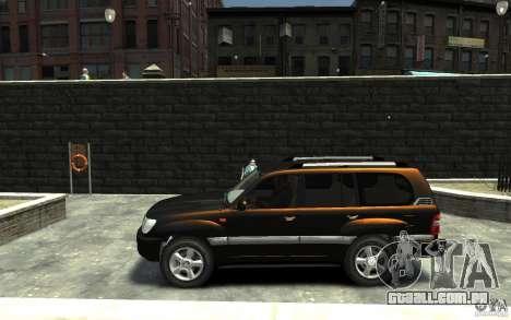 LEXUS LX 470 para GTA 4 esquerda vista