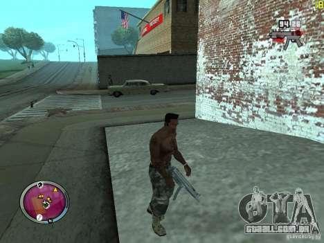 Nova zona GANGSTER para GTA San Andreas sexta tela