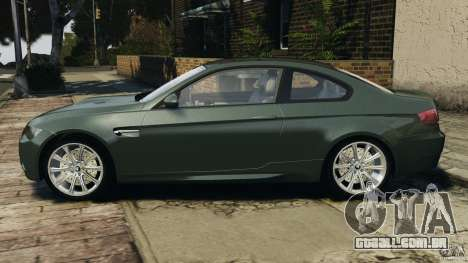 BMW M3 E92 2007 v1.0 [Beta] para GTA 4 esquerda vista