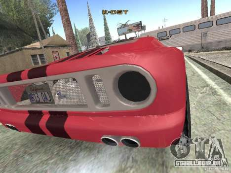 Bullet HQ para GTA San Andreas traseira esquerda vista