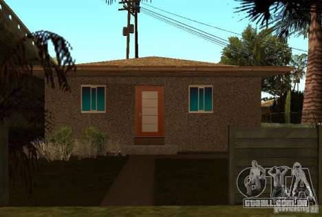 Novas texturas de casas na rua Grove para GTA San Andreas