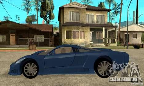 Saleen S7 v1.0 para GTA San Andreas esquerda vista