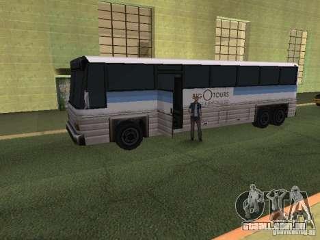Espaço animado v 1.0 para GTA San Andreas quinto tela