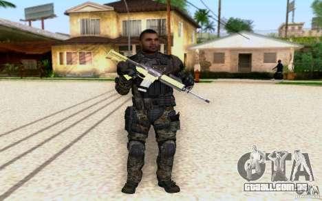 Salazar de CoD: BO2 para GTA San Andreas
