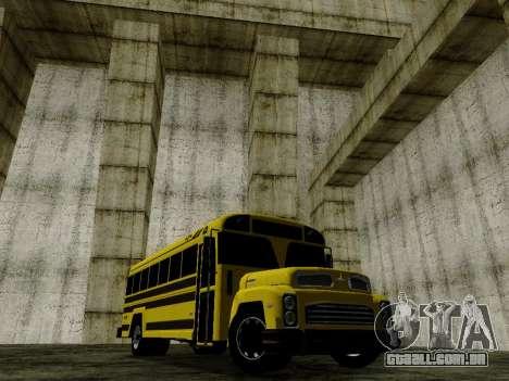 International Harvester B-Series 1959 School Bus para GTA San Andreas traseira esquerda vista