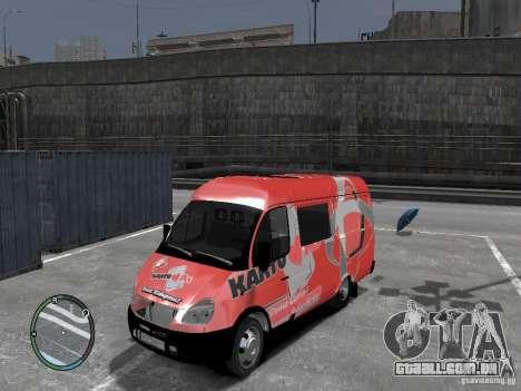Gazela 2705 Telkomsel Van para GTA 4