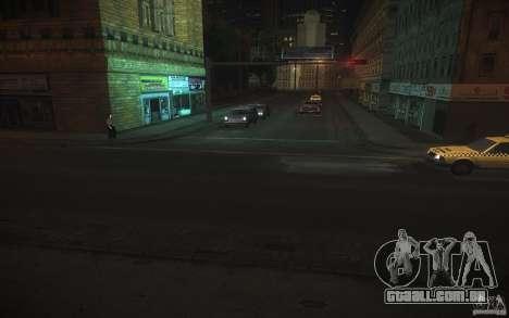 Estrada de HD v 2.0 Final para GTA San Andreas segunda tela