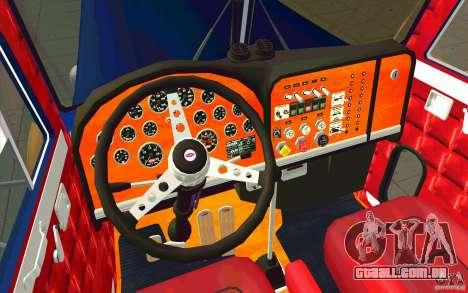 Peterbilt 359 Custom para GTA San Andreas vista direita