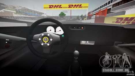 Lotus 2-11 para GTA 4 vista de volta