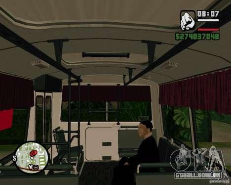 Capacidade de sentar-se para GTA San Andreas