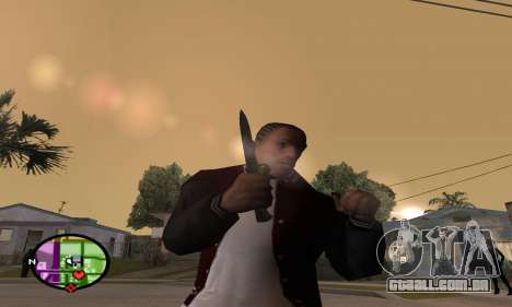 German WWII Knife para GTA San Andreas