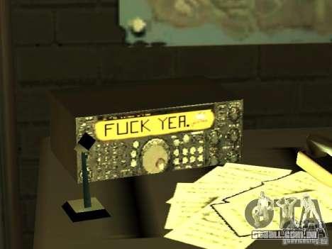 Bar de merda Sim para GTA San Andreas sétima tela