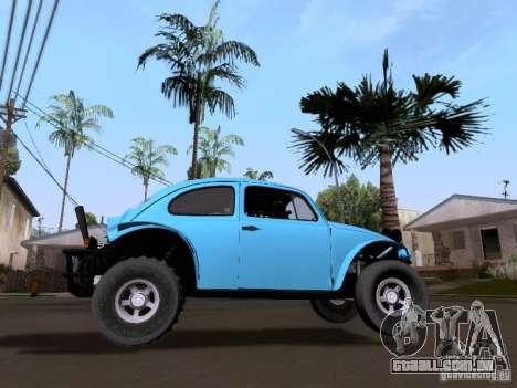 Volkswagen Buggy 1963 para GTA San Andreas traseira esquerda vista