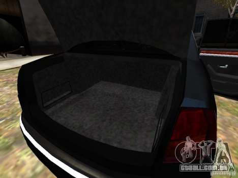 Audi A8L W12 para GTA 4 motor