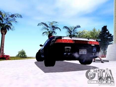 NFS Undercover Cop Car MUS para GTA San Andreas vista direita