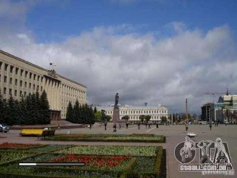 Tela de boot, a cidade de Stavropol para GTA San Andreas quinto tela