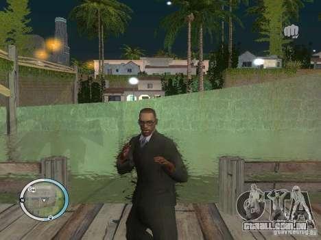 NEW GTA IV HUD 3 para GTA San Andreas terceira tela