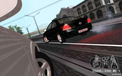 Nissan Almera Classic para GTA San Andreas vista traseira