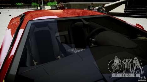 Lamborghini Aventador LP700-4 para GTA 4 vista superior