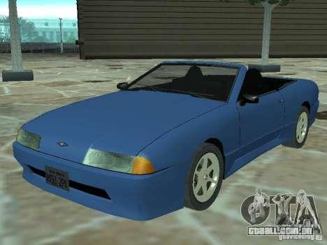 Elegia de Tops conversíveis para GTA San Andreas