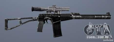 Como o Rifle de assalto do Val para GTA San Andreas sexta tela