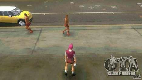 Girl Player mit 11skins para GTA Vice City twelth tela