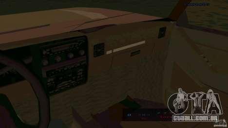 HD Huntley para GTA San Andreas traseira esquerda vista