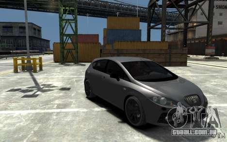 Seat Leon Cupra v.2 para GTA 4 vista de volta