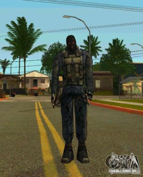 Peles de STALKER para GTA San Andreas décima primeira imagem de tela