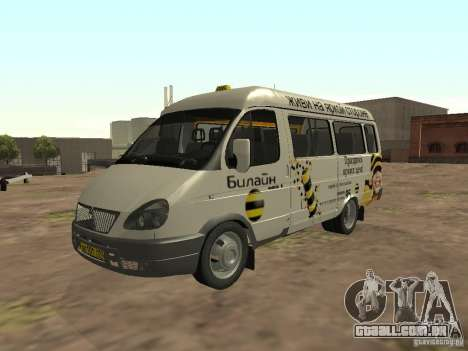 Beeline gazela 32213 para GTA San Andreas