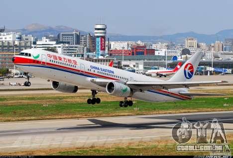 Boeing 767 de telas de carregamento para GTA San Andreas