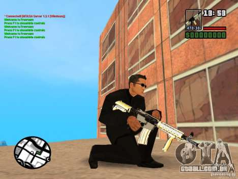 Gun Pack by MrWexler666 para GTA San Andreas décimo tela