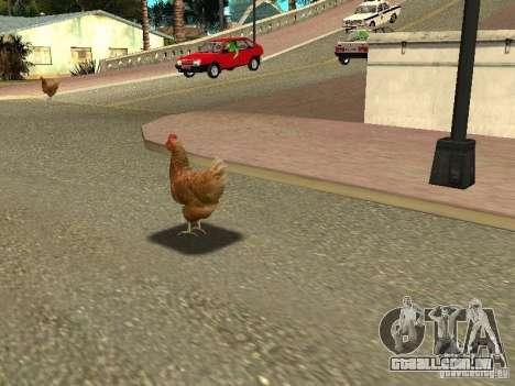 Patrulha de frango para GTA San Andreas