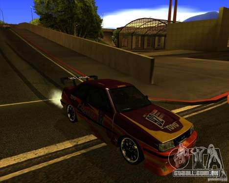 GTA VI Futo GT custom para GTA San Andreas vista interior