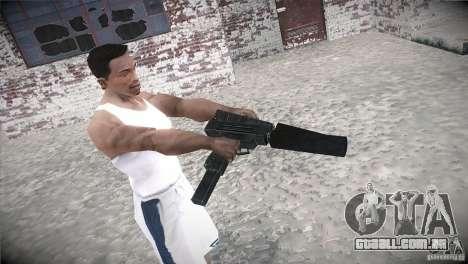 Weapon Pack by GVC Team para GTA San Andreas por diante tela