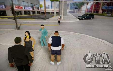 Pessoas falando ao telefone para GTA San Andreas segunda tela