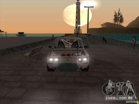 Estilo de drift VAZ 2106 para GTA San Andreas vista direita