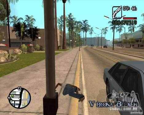 Endorphin Mod v.3 para GTA San Andreas nono tela
