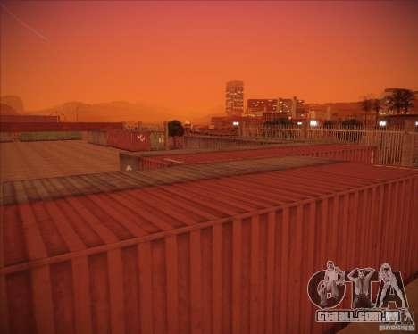 Portland para GTA San Andreas sexta tela
