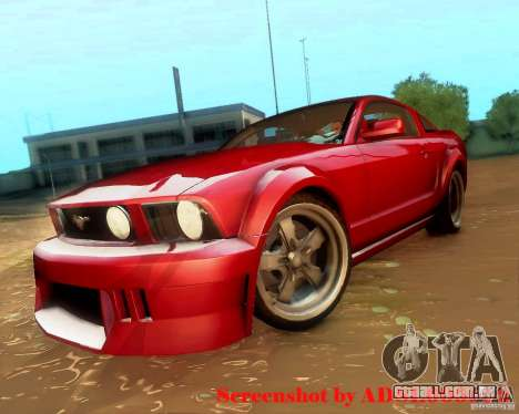 Ford Mustang GT 2005 Tunable para GTA San Andreas vista direita
