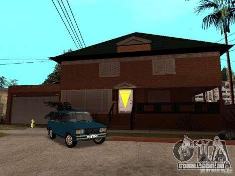 Casa de CJ em Russo para GTA San Andreas