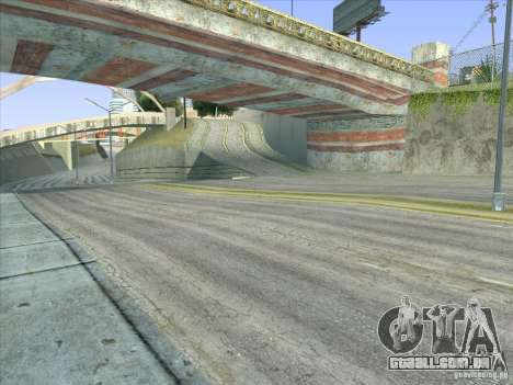 Grove Street Retextured para GTA San Andreas