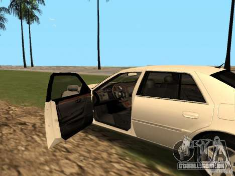 Cadillac DTS 2010 para GTA San Andreas vista traseira