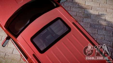 Jeep Grand Cherokee para GTA 4 vista inferior