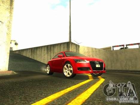 Audi TT 2009 v2.0 para GTA San Andreas traseira esquerda vista