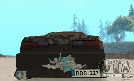 Nissan Silvia S13 NonGrata para GTA San Andreas vista interior